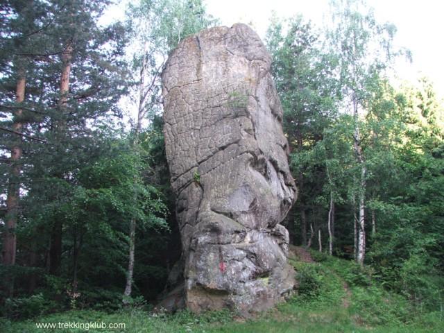 Piatra cu ceaun - Stogul de piatra